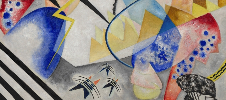 Center (Detail), Wassily Kandinsky, 1921
