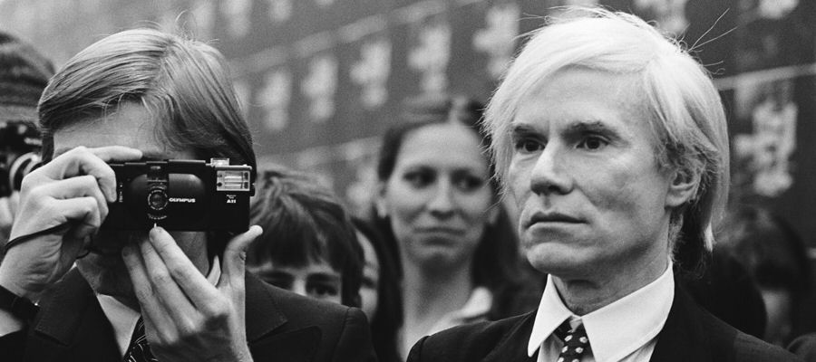 Andy Warhol in Vienna, 1982