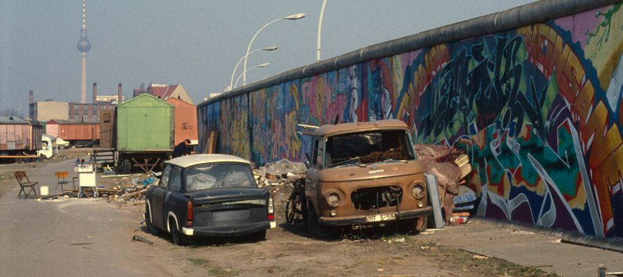 Behind the Berlin Wall, 1993
